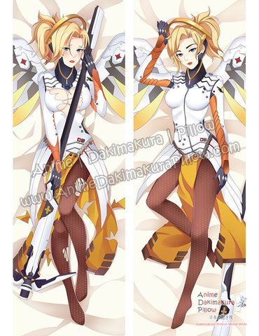 New Mercy - Overwatch Anime Dakimakura Japanese Hugging Body Pillow Cover ADP-69014 - Anime Dakimakura Pillow Shop | Fast, Free Shipping, Dakimakura Pillow & Cover shop, pillow For sale, Dakimakura Japan Store, Buy Custom Hugging Pillow Cover - 1