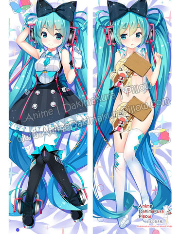 New Hatsune Miku - Vocaloid Anime Dakimakura Japanese Hugging Body Pillow Cover ADP-69026