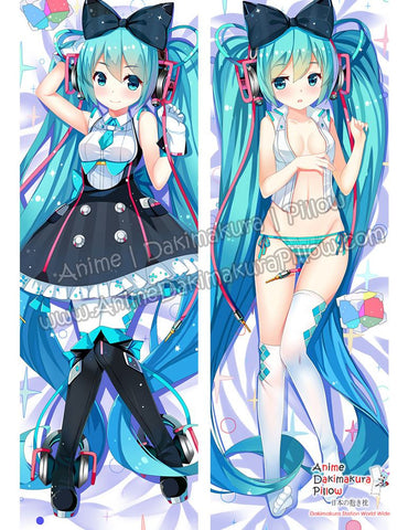 New Hatsune Miku - Vocaloid Anime Dakimakura Japanese Hugging Body Pillow Cover ADP-69027