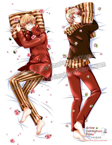 New Hetalia Male Anime Dakimakura Japanese Hugging Body Pillow Cover ADP-69031