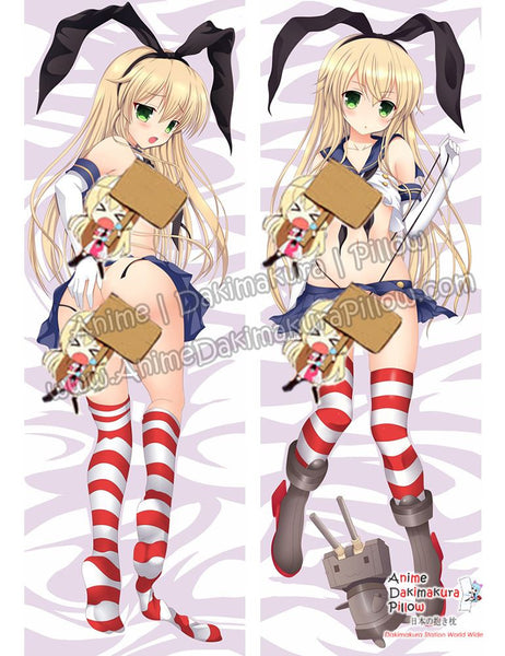 New Shimakaze Kai - Kantai Collection Anime Dakimakura Japanese Hugging Body Pillow Cover ADP-69032