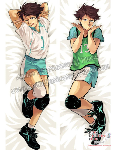 New Tooru Oikawa - Haikyuu Male Anime Dakimakura Japanese Hugging Body Pillow Cover ADP-69038