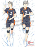 New Koushi Sugawara - Haikyuu Male Anime Dakimakura Japanese Hugging Body Pillow Cover ADP-69043