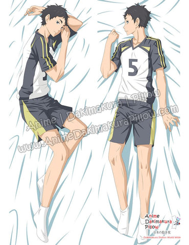 New Akaashi Keiji Fukurodani - Haikyuu!! Male Anime Dakimakura Japanese Hugging Body Pillow Cover ADP-69045