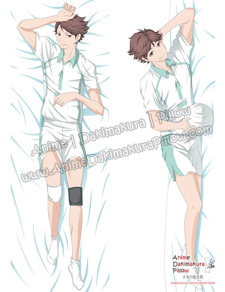 New Tooru Oikawa - Haikyuu Male Anime Dakimakura Japanese Hugging Body Pillow Cover ADP-69046