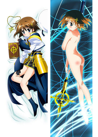 New  Mahou Shoujo Lyrical Nanoha Anime Dakimakura Japanese Pillow Cover ContestFiftyTwo14 - Anime Dakimakura Pillow Shop | Fast, Free Shipping, Dakimakura Pillow & Cover shop, pillow For sale, Dakimakura Japan Store, Buy Custom Hugging Pillow Cover - 1