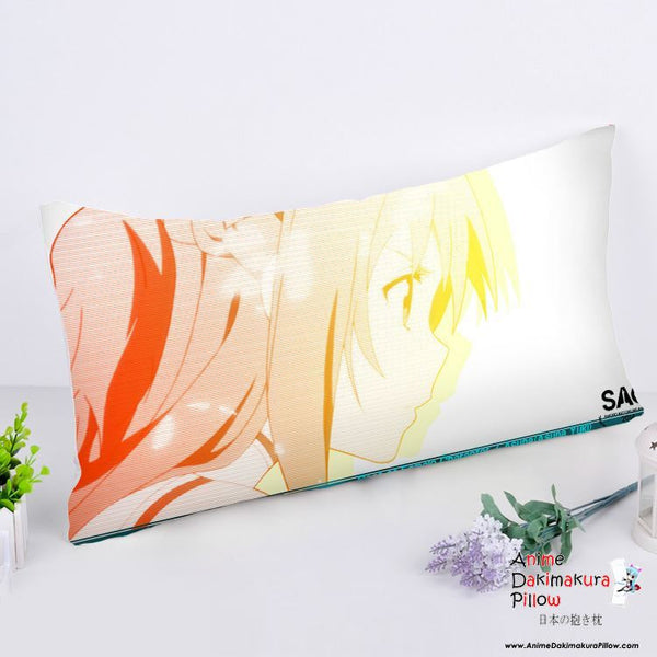 New Asuna - Sword Art Online Anime Dakimakura Rectangle Pillow Cover RPC69 - Anime Dakimakura Pillow Shop | Fast, Free Shipping, Dakimakura Pillow & Cover shop, pillow For sale, Dakimakura Japan Store, Buy Custom Hugging Pillow Cover - 1