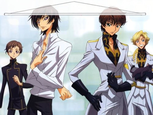 Code Geass Japanese Anime Wall Scroll Poster and Banner 6