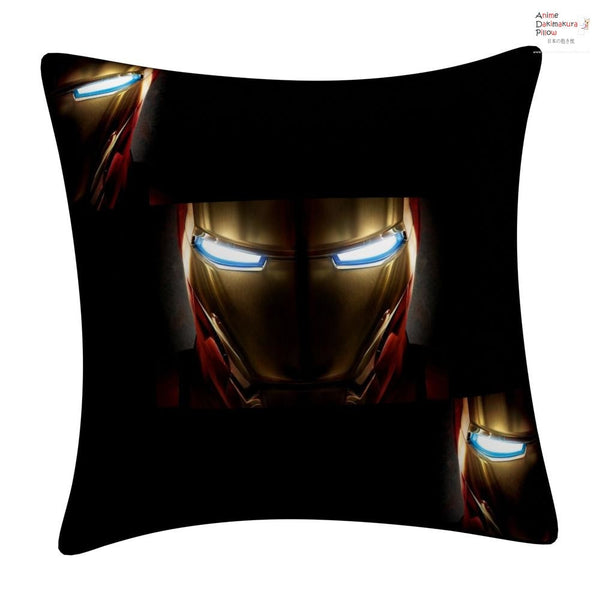 New IRON MAN Throw Pillow cushion pillowcases cover6 - Anime Dakimakura Pillow Shop | Fast, Free Shipping, Dakimakura Pillow & Cover shop, pillow For sale, Dakimakura Japan Store, Buy Custom Hugging Pillow Cover - 1