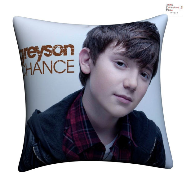 New Greyson Chance Throw Pillow Case cushion pillowcase cover6 - Anime Dakimakura Pillow Shop | Fast, Free Shipping, Dakimakura Pillow & Cover shop, pillow For sale, Dakimakura Japan Store, Buy Custom Hugging Pillow Cover - 1