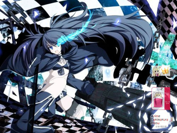 New Black Rock Shooter Japanese Anime Bed Blanket Cover or Duvet Cover Blanket 6