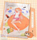 New Umaru Doma - Himouto Umaru-chan Japanese Anime Fleece Flannel Bed Throws GZFONG346 - Anime Dakimakura Pillow Shop | Fast, Free Shipping, Dakimakura Pillow & Cover shop, pillow For sale, Dakimakura Japan Store, Buy Custom Hugging Pillow Cover - 2