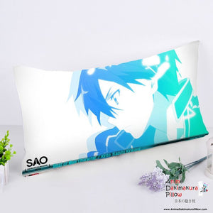 New Kirito - Sword Art Online Anime Dakimakura Rectangle Pillow Cover RPC70