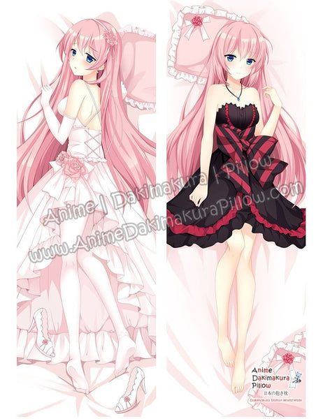 New-Megurine-Luka--Vocaloid-Anime-Dakimakura-Japanese-Hugging-Body-Pillow-Cover-ADP71001