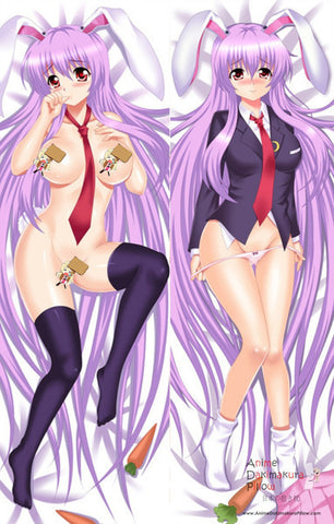 New Touhou Project Reisen Udongein Anime Dakimakura Japanese Pillow Cover ContestEightySix 21 MGF-9165 - Anime Dakimakura Pillow Shop | Fast, Free Shipping, Dakimakura Pillow & Cover shop, pillow For sale, Dakimakura Japan Store, Buy Custom Hugging Pillow Cover - 1