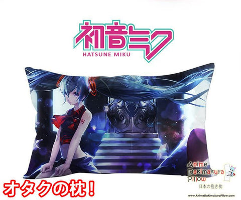 New Hatsune Miku - Vocaloid Anime Waifu Dakimakura Rectangle 40x70cm Pillow Cover GZFONG-71 - Anime Dakimakura Pillow Shop | Fast, Free Shipping, Dakimakura Pillow & Cover shop, pillow For sale, Dakimakura Japan Store, Buy Custom Hugging Pillow Cover - 1