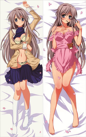 New Clannad Anime Dakimakura Japanese Pillow Cover Clan9 - Anime Dakimakura Pillow Shop | Fast, Free Shipping, Dakimakura Pillow & Cover shop, pillow For sale, Dakimakura Japan Store, Buy Custom Hugging Pillow Cover - 1