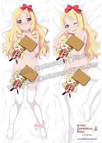 New Yamada Elf - Eromanga Sensei Anime Dakimakura Japanese Hugging Body Pillow Cover ADP76023