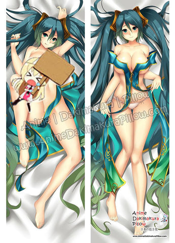 New Sona - League of Legends Anime Dakimakura Japanese Hugging Body Pillow Cover ADP76074