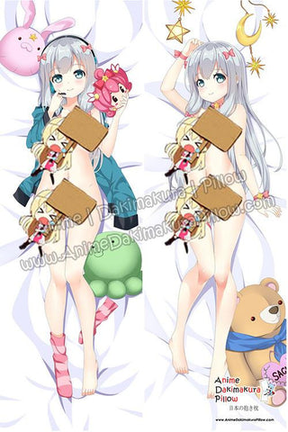 New Sagiri Izumi - Eromanga Sensei Anime Dakimakura Japanese Hugging Body Pillow Cover ADP77035