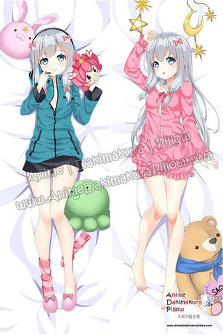 New Sagiri Izumi - Eromanga Sensei Anime Dakimakura Japanese Hugging Body Pillow Cover ADP77036