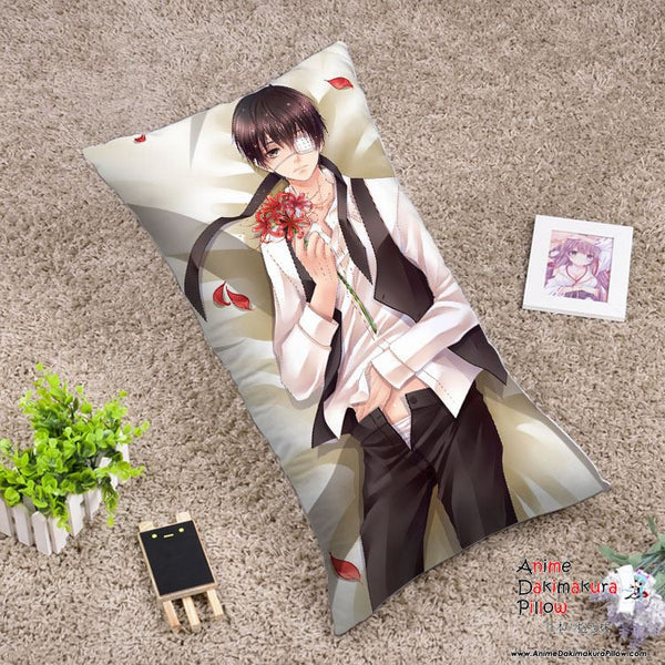 New Tokyo Ghoul Anime Dakimakura Rectangle Pillow Cover RPC77 - Anime Dakimakura Pillow Shop | Fast, Free Shipping, Dakimakura Pillow & Cover shop, pillow For sale, Dakimakura Japan Store, Buy Custom Hugging Pillow Cover - 1