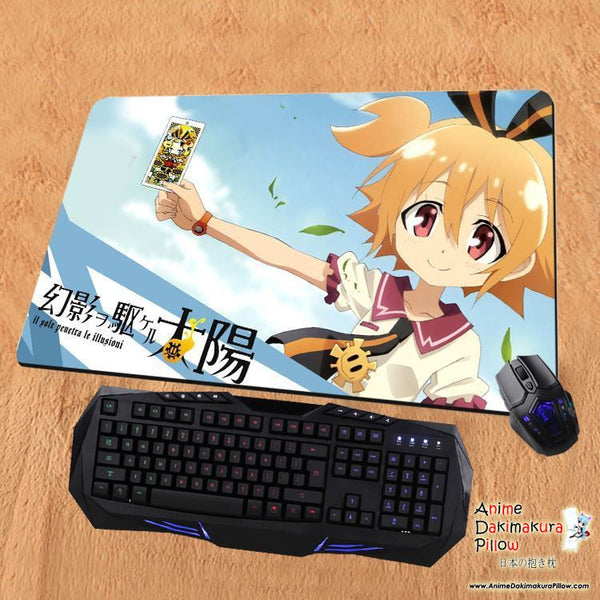 New Day Break Illusion Anime Gaming Playmat Multipurpose Mousepad PM77