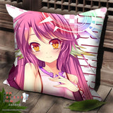 New Jibril - No Game No Life Anime Dakimakura Square Pillow Cover SPC77 - Anime Dakimakura Pillow Shop | Fast, Free Shipping, Dakimakura Pillow & Cover shop, pillow For sale, Dakimakura Japan Store, Buy Custom Hugging Pillow Cover - 1