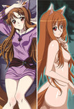 New Spice and Wolf Anime Dakimakura Japanese Pillow Cover SW6 - Anime Dakimakura Pillow Shop | Fast, Free Shipping, Dakimakura Pillow & Cover shop, pillow For sale, Dakimakura Japan Store, Buy Custom Hugging Pillow Cover - 2