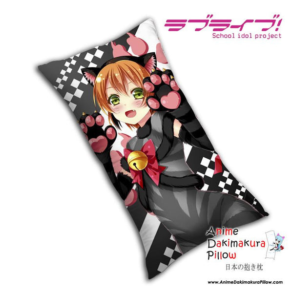 New Rin Hoshizora - Love Live Anime Dakimakura Rectangle Pillow Cover H0078 - Anime Dakimakura Pillow Shop | Fast, Free Shipping, Dakimakura Pillow & Cover shop, pillow For sale, Dakimakura Japan Store, Buy Custom Hugging Pillow Cover - 1