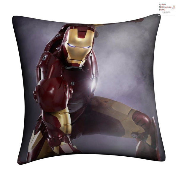 New IRON MAN Throw Pillow cushion pillowcases cover7 - Anime Dakimakura Pillow Shop | Fast, Free Shipping, Dakimakura Pillow & Cover shop, pillow For sale, Dakimakura Japan Store, Buy Custom Hugging Pillow Cover - 1