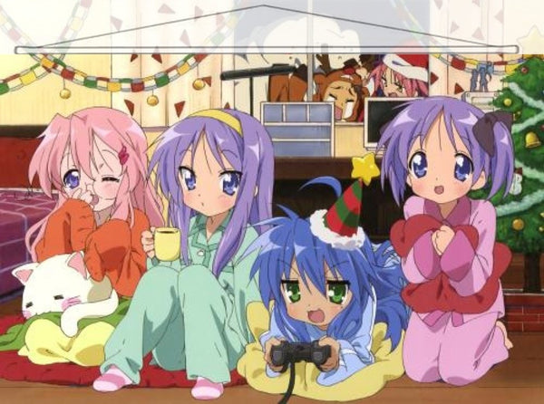 Lucky Star Japanese Anime Wall Scroll Poster and Banner 7