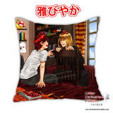 New Matt X Melo - Death Note Anime Dakimakura Japanese Square Pillow Cover Custom Designer ElyonBlackStar ADC708 - Anime Dakimakura Pillow Shop | Fast, Free Shipping, Dakimakura Pillow & Cover shop, pillow For sale, Dakimakura Japan Store, Buy Custom Hugging Pillow Cover - 1
