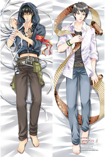 New Daomu biji The Graver Robbers' Chronicles Kyling zhang Wuxie Male Anime Dakimakura Japanese Pillow Cover MGF 8064 - Anime Dakimakura Pillow Shop | Fast, Free Shipping, Dakimakura Pillow & Cover shop, pillow For sale, Dakimakura Japan Store, Buy Custom Hugging Pillow Cover - 1