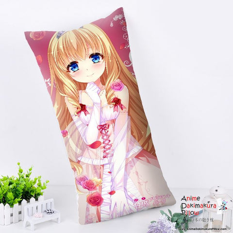 New Latifa Fleuranza - Amagi Brilliant Park Anime Dakimakura Rectangle Pillow Cover RPC80 - Anime Dakimakura Pillow Shop | Fast, Free Shipping, Dakimakura Pillow & Cover shop, pillow For sale, Dakimakura Japan Store, Buy Custom Hugging Pillow Cover - 1