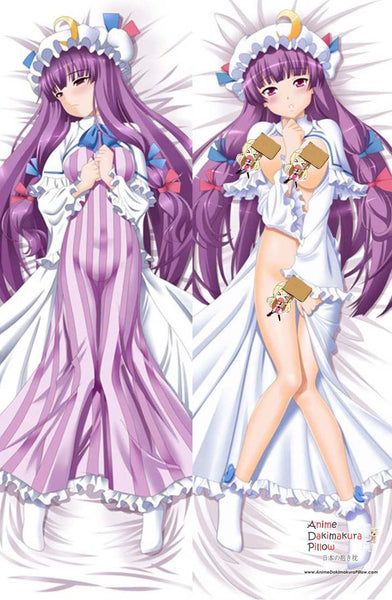 New Touhou Project - Patchouli Knowledge Anime Dakimakura Japanese Pillow Cover MGF 8118 - Anime Dakimakura Pillow Shop | Fast, Free Shipping, Dakimakura Pillow & Cover shop, pillow For sale, Dakimakura Japan Store, Buy Custom Hugging Pillow Cover - 1