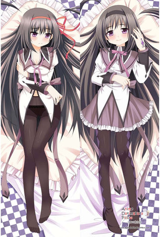 New Puella Magi Madoka Magica - Homura Akemi Anime Dakimakura Japanese Pillow Cover MGF 8124 - Anime Dakimakura Pillow Shop | Fast, Free Shipping, Dakimakura Pillow & Cover shop, pillow For sale, Dakimakura Japan Store, Buy Custom Hugging Pillow Cover - 1