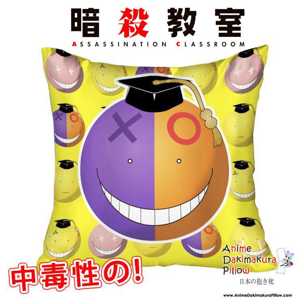 New Koro Sensei - Assassination Classroom 40x40cm Square Anime Dakimakura Waifu Throw Pillow Cover GZFONG81