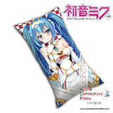 New Hatsune Miku - Vocaloid Anime Dakimakura Rectangle Pillow Cover H0081 - Anime Dakimakura Pillow Shop | Fast, Free Shipping, Dakimakura Pillow & Cover shop, pillow For sale, Dakimakura Japan Store, Buy Custom Hugging Pillow Cover - 1