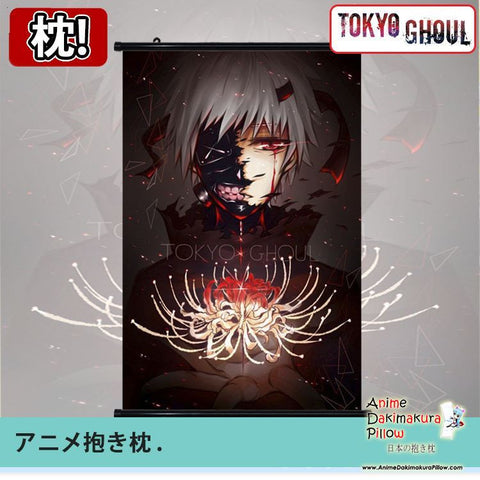 New Tokyo Ghoul Japanese Anime Art Wall Scroll Poster Limited Edition High Quality GZFONG084 - Anime Dakimakura Pillow Shop | Fast, Free Shipping, Dakimakura Pillow & Cover shop, pillow For sale, Dakimakura Japan Store, Buy Custom Hugging Pillow Cover - 1