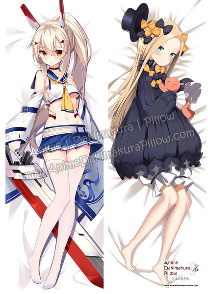 New Azur Lane and Abigail Williams - Fate Grand Order Anime Dakimakura Japanese Hugging Body Pillow Cover ADP85049 ADP86002