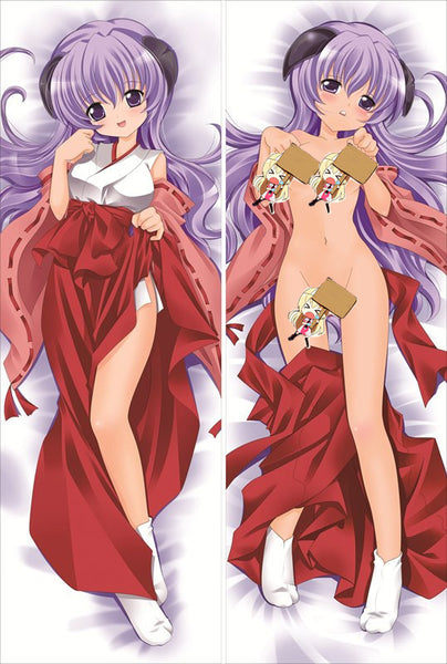 New Higurashi When They Cry Anime Dakimakura Japanese Pillow Cover HWTC8 - Anime Dakimakura Pillow Shop | Fast, Free Shipping, Dakimakura Pillow & Cover shop, pillow For sale, Dakimakura Japan Store, Buy Custom Hugging Pillow Cover - 1
