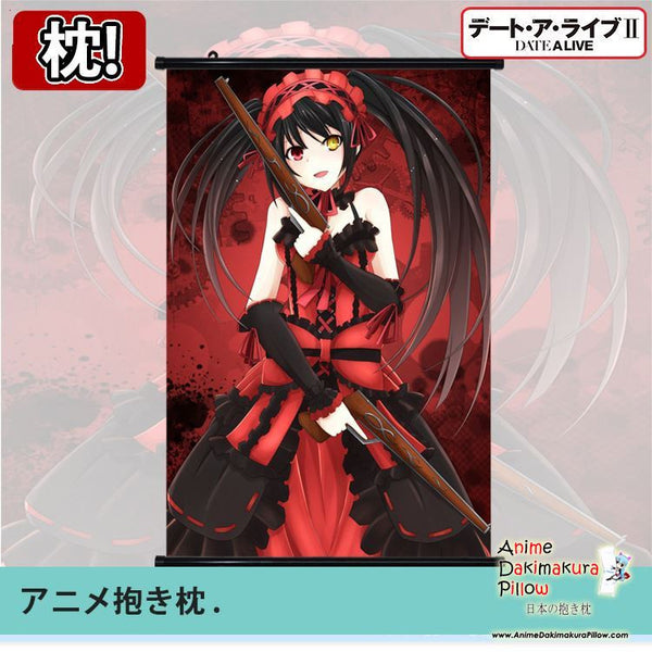 New Date a Live Japanese Anime Art Wall Scroll Poster Limited Edition High Quality GZFONG086