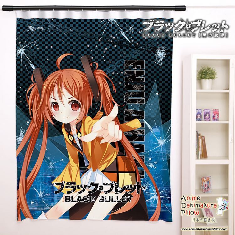 New Enju Aihara - Black Bullet Anime Japanese Window Curtain Door Entrance Room Partition H0086