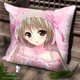 New Sora Kasugano - Yosuga no Sora Anime Dakimakura Square Pillow Cover SPC86 - Anime Dakimakura Pillow Shop | Fast, Free Shipping, Dakimakura Pillow & Cover shop, pillow For sale, Dakimakura Japan Store, Buy Custom Hugging Pillow Cover - 1