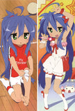 New Lucky Star Anime Dakimakura Japanese Pillow Cover LS23 - Anime Dakimakura Pillow Shop | Fast, Free Shipping, Dakimakura Pillow & Cover shop, pillow For sale, Dakimakura Japan Store, Buy Custom Hugging Pillow Cover - 1
