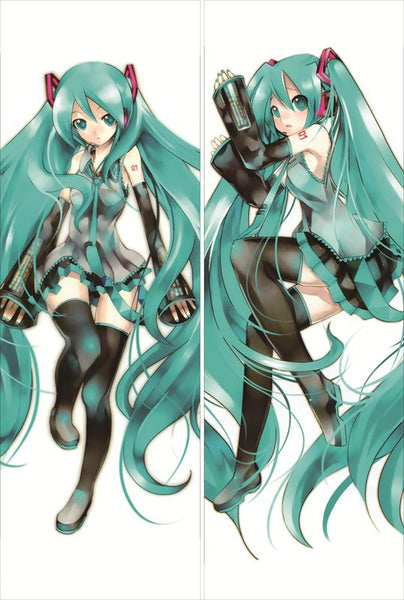 New Hatsune Miku Anime Dakimakura Japanese Pillow Cover HM36 - Anime Dakimakura Pillow Shop | Fast, Free Shipping, Dakimakura Pillow & Cover shop, pillow For sale, Dakimakura Japan Store, Buy Custom Hugging Pillow Cover - 1