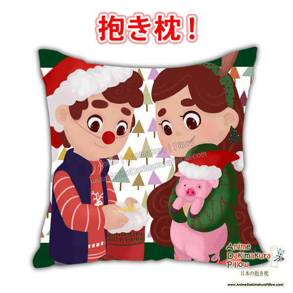 New Gravity Falls Anime Dakimakura Japanese Square Pillow Cover Custom Designer BambyKim ADC434