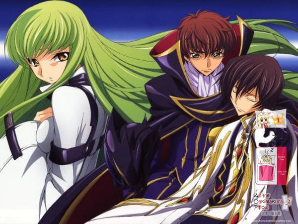 New Code Geass Japanese Anime Bed Blanket Cover or Duvet Cover Blanket 8 - Anime Dakimakura Pillow Shop | Fast, Free Shipping, Dakimakura Pillow & Cover shop, pillow For sale, Dakimakura Japan Store, Buy Custom Hugging Pillow Cover - 1