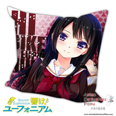 New Reina Kousaka - Sound! Euphonium Anime Dakimakura Square Pillow Cover H008 - Anime Dakimakura Pillow Shop | Fast, Free Shipping, Dakimakura Pillow & Cover shop, pillow For sale, Dakimakura Japan Store, Buy Custom Hugging Pillow Cover - 1